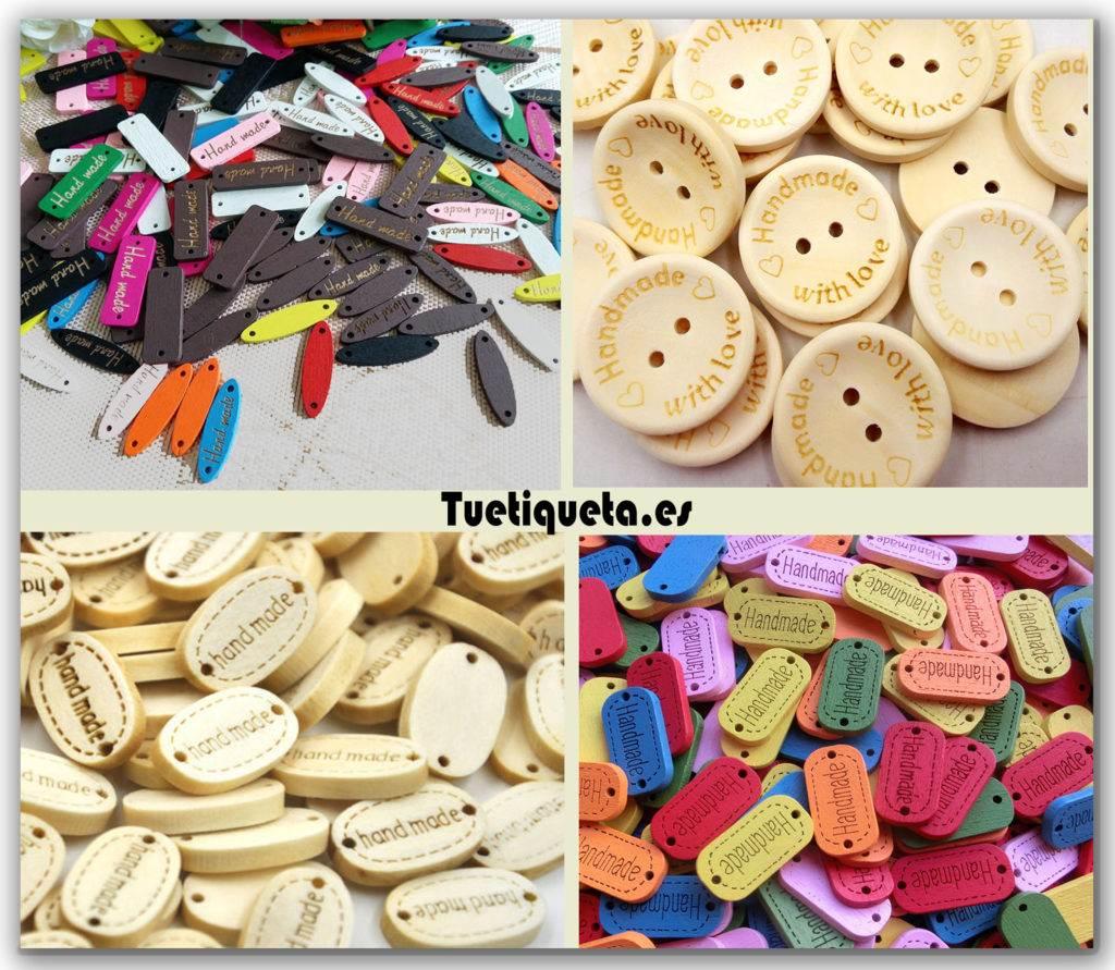 Botonos y placas handmade